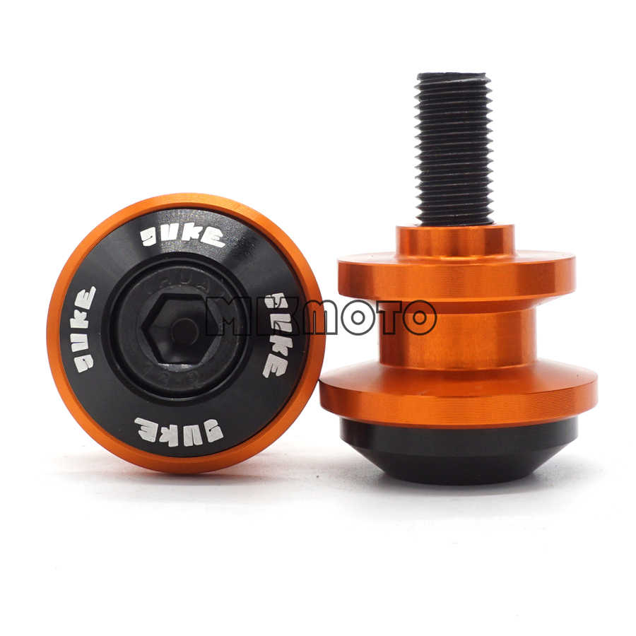 10MM Swingarm Spools For DUKE 125 200 250 390//RC 390 200 125