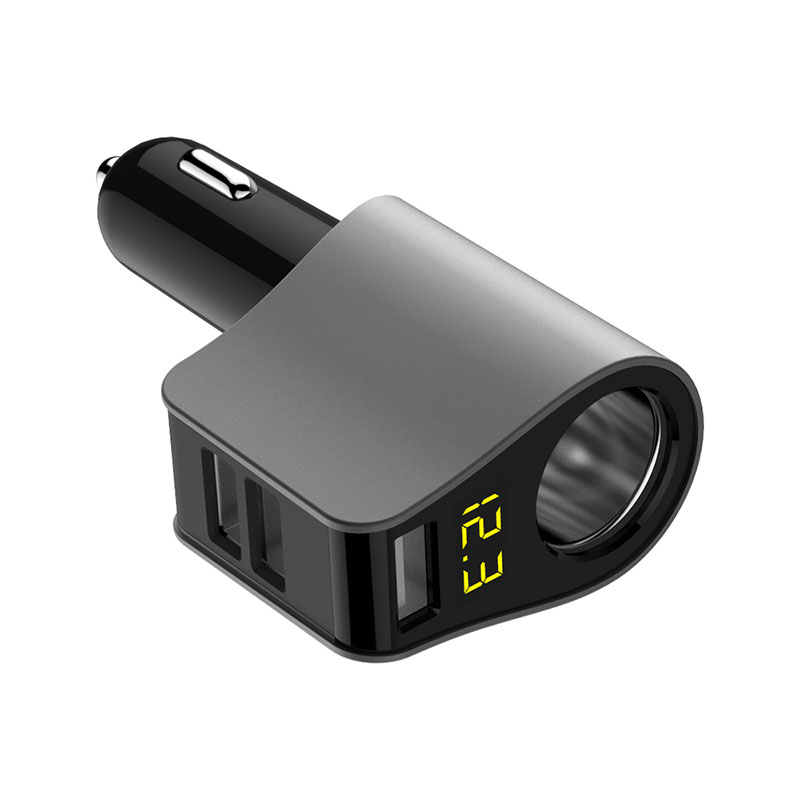 USB Car Charger Extended Cigarette Lighter Power Connector LED detection for Honda fit accord crv civic 2006 2012 jazz city hrv