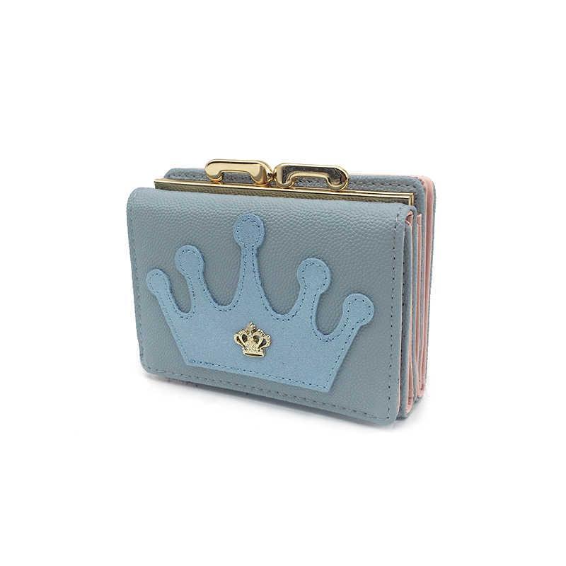 2019 милые маленькие женские кошельки короткий кожаный кошелек женская Высококачественная сумка для денег держатель для карт мини Дамский кошелек Carteira Feminina