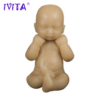 IVITA 70g 4 7 Inch Mini Silicone Dolls Reborn Classic Realistic Lifelike Skin Touch Feeling Soft
