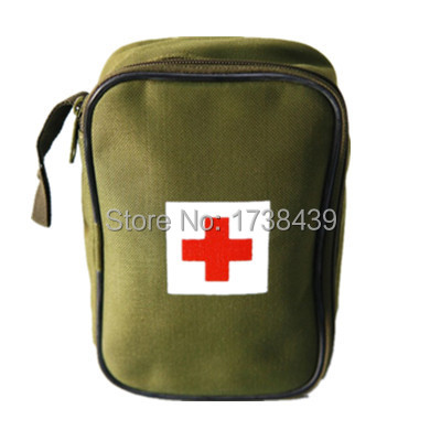 New Portable first aid kit Outdoor Travel kit Camping Emergency Survival kit military Big Car first aid kit bag