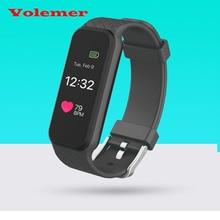 Красочный Экран B5 Bluetooth Умный Браслет Динамический Монитор Сердечного ритма полноцветный TFT-LCD Экран Smartband для Android IOS Телефон