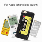 For Apple iphone ipod touch 6 case,Joe Cute painting Hard PC cellphone back cover case for Apple iphone ipod touch6
