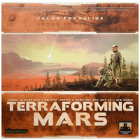 Terraforming mars adult board game card desktop game