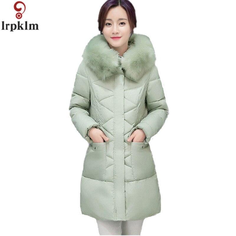 2017 Winter Jacket Women Fashion New Winter Fur Hooded Cotton Jacket Wine Red Coat Plus Size S-3XL Warm Winter Parka Women LZ262 karen kane new red colorblocked women s size small s turtleneck dress $89