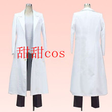 Steins Gate Okabe Rintarou anime Cosplay Costume Custom jacket coat outfit  coat only Any Size( 68dee1c3a98b