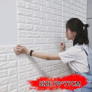 DIY Self Adhesive 3D Wallpaper