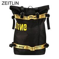 Women Men Korean Ulzzang Large Capacity Travel Bag Teenager Leisure Oxford School Bags Harajuku Street Fashion Backpack Sac S548