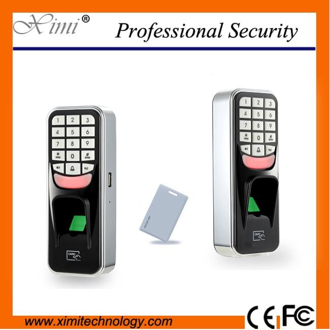 Free shipping USB RFID fingerprint access control system F801 biometric fingerprint access controller tcp ip fingerprint door access control reader