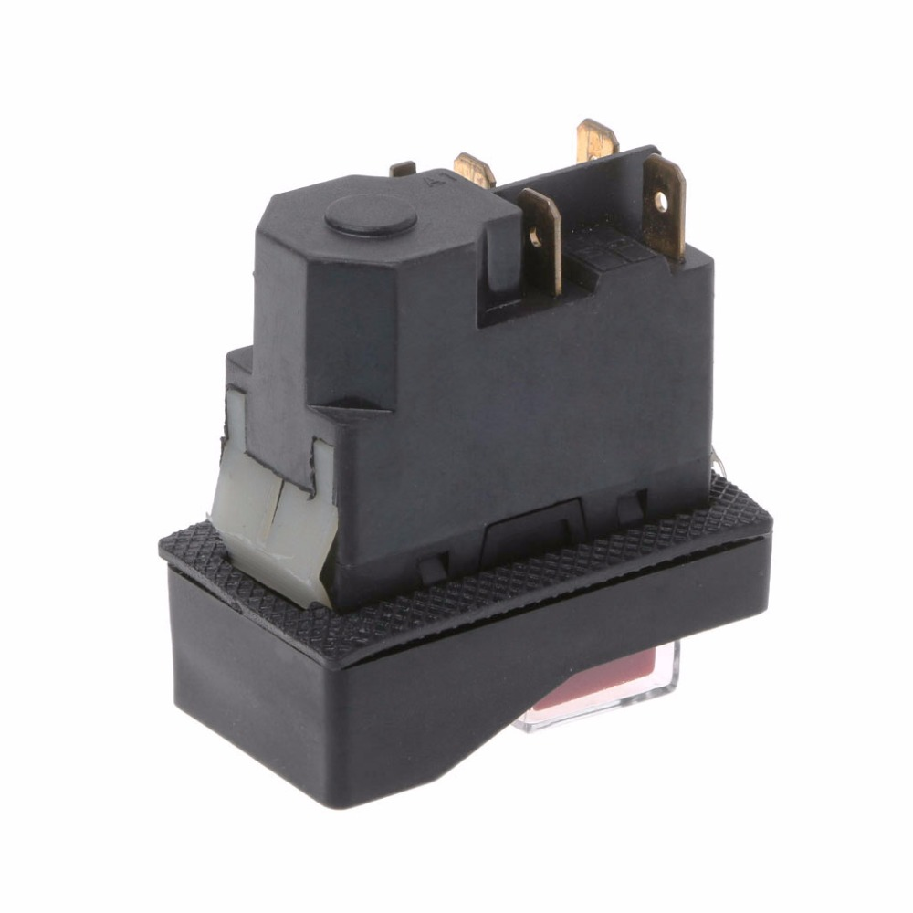 Image 5 - KLD 28A Waterproof Magnetic Switch Explosion proof Pushbutton Switches 220V 18A IP55-in Switches from Lights & Lighting