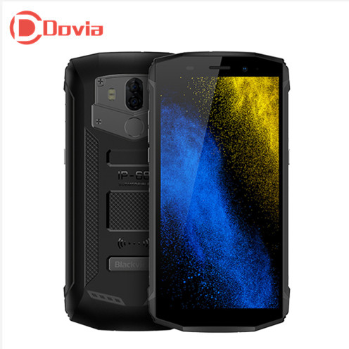 Blackview BV5800 IP68 Mobile Phone 18:9 Android 8.1 MT6739 Quad Core 1.5 ghz 2 gb + 16 gb 13MP + 0.3MP Posteriore Cam 5580 mah 4g Smartphone