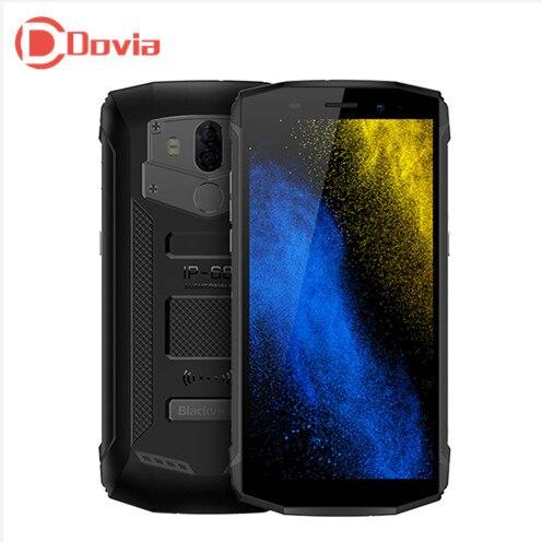 Blackview BV5800 IP68 teléfono móvil 18:9 Android 8,1 MT6739 Quad Core 1,5 GHz 2 GB + 16 GB 13MP + 0.3MP trasera cámaras 5580 mAh 4G Smartphone