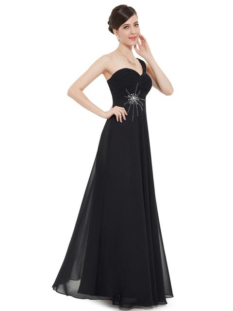 Ever Pretty 2017 Clearance Style Evening Dress Chiffon One Shoulder Elegant Formal Dresses Backless Evening Dresses XX77080EHA