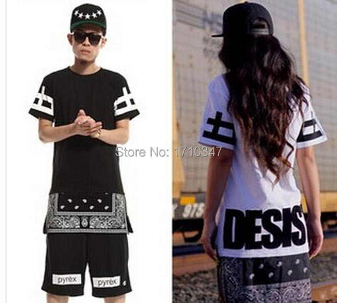2015 New Fashion Men Women 39 S Hip Hop T Shirt Bandana Style