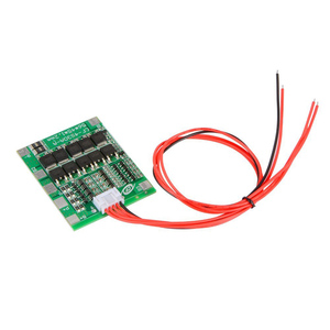 Image 2 - 4S 16.8V 30A Li ion Lithium Battery 18650 Charger Protection Board PCB BMS Balance Module High Current TE742