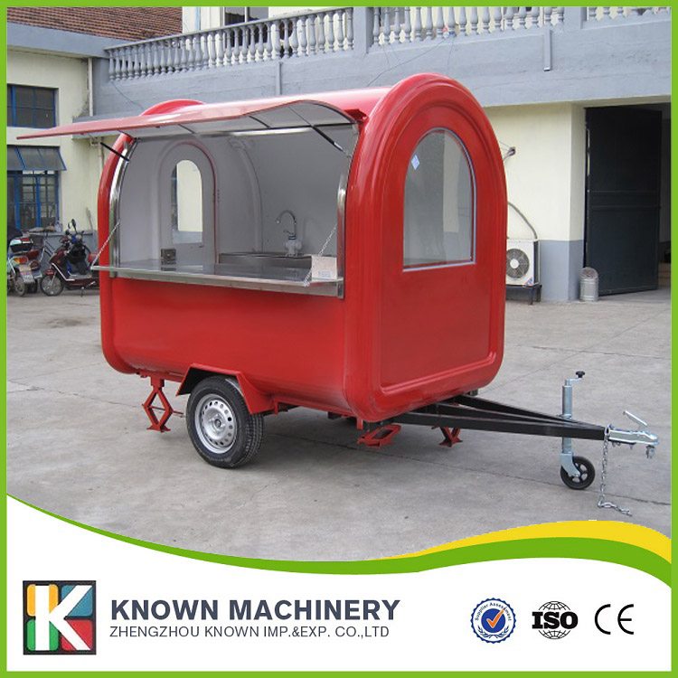 все цены на The best selling mobile food carts/trailer/ ice cream truck/snack food carts for red color with a bucket of paint