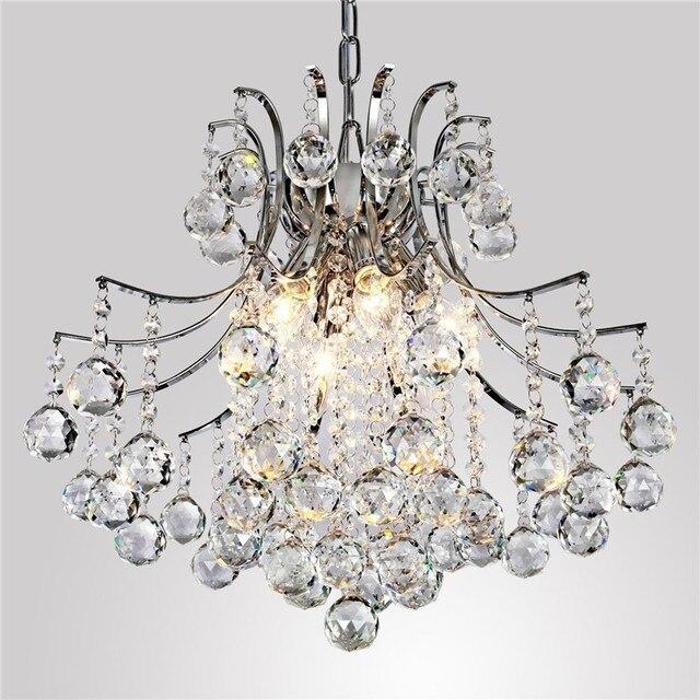 6 Led Lampen Modernen Kristall Kronleuchter Transparent Kronleuchter Lampe  Wohnzimmer Hängeleuchten Geeignet Für Kinderzimmer