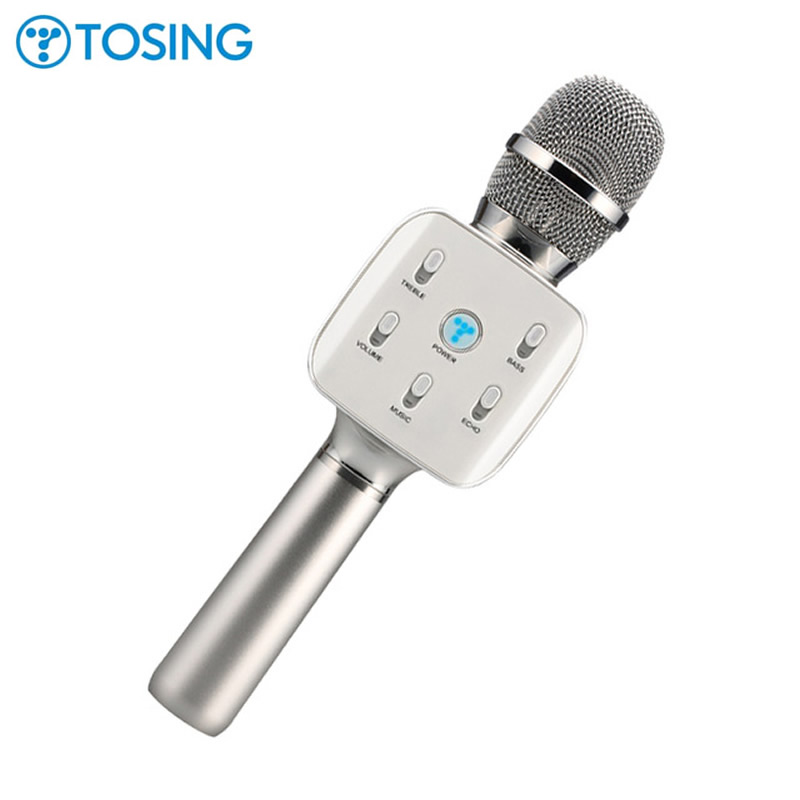 Original brand Tosing 02 Q7 in 1 Handheld Karaoke Microphone with One Button to Remove Original