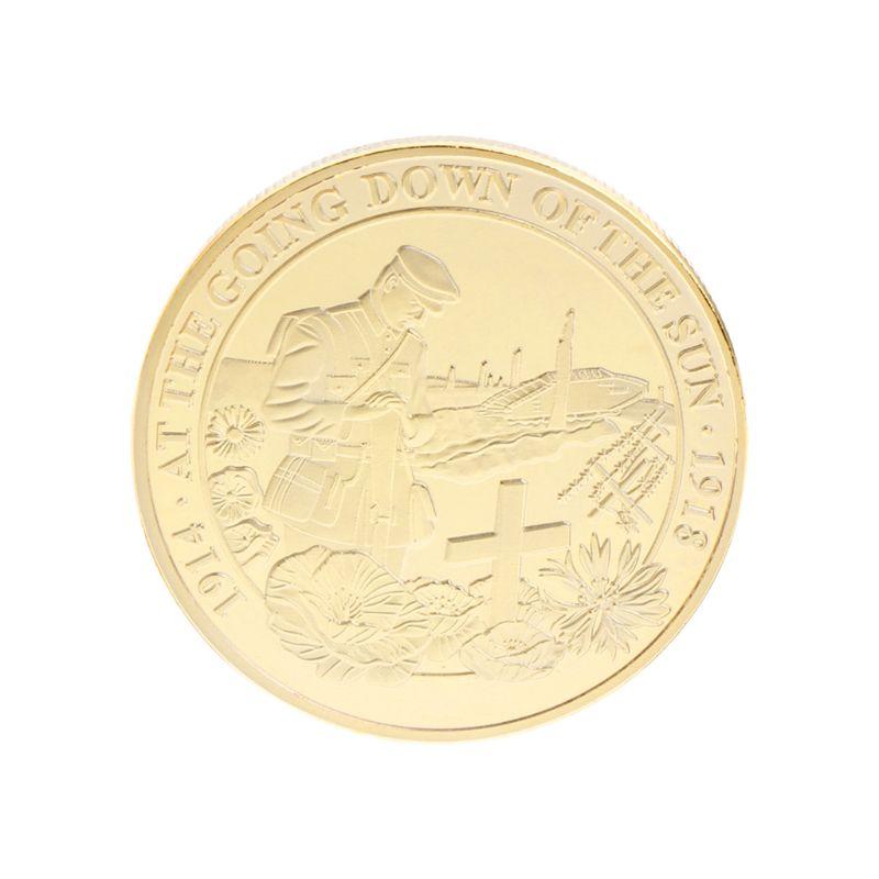 Памятная монета лелеять памяти Solider Армия коллекция мировой войны сувенирные монеты Сплав Арт-подарки с серебряным, золотым покрытием