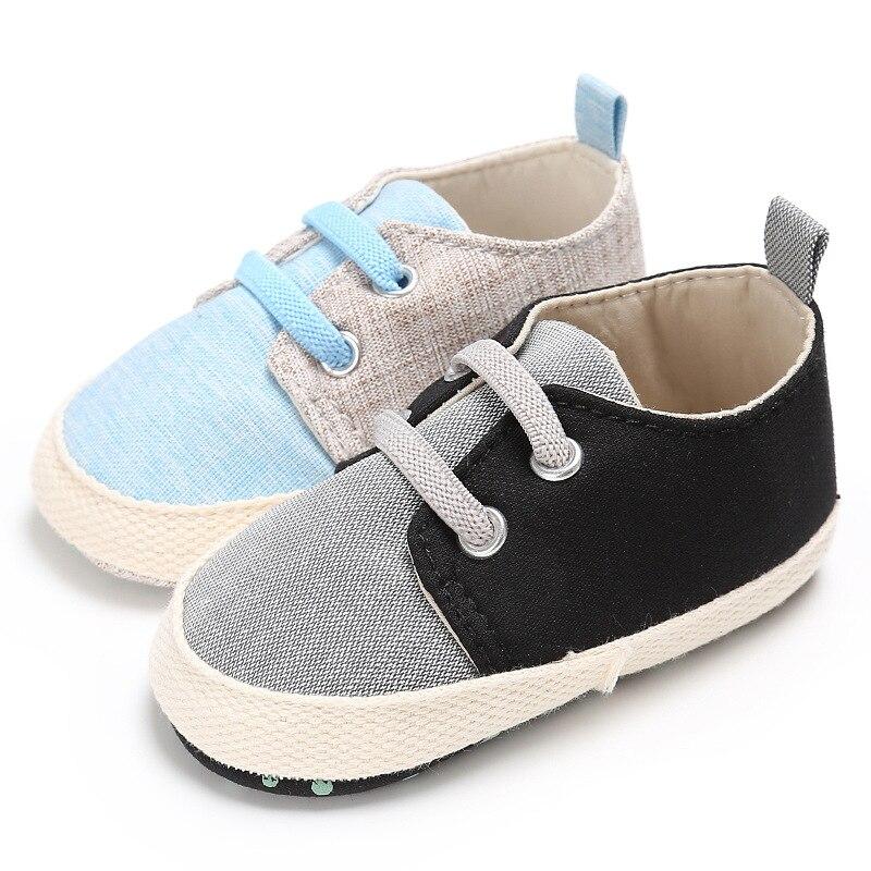 Baby Shoes Boy Girl Newborn Crib Soft Sole Shoe Sneakers Sport Cotton Cloth baby boy shoes bebek ayakkabi
