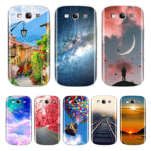 Scenery Silicone Case for Samsung Galaxy S3 Case I9300 Neo i9301 Duos i9300i Soft TPU Cover For Samsung Galaxy S3 Phone Case