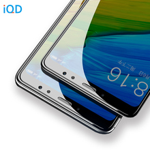 IQD Tempered glass for Redmi 4A 4X 5A Note 4 4x screen protector for Xiaomi 5X A1 Protective film Ultra-thin clear for Mi 8 4X 5
