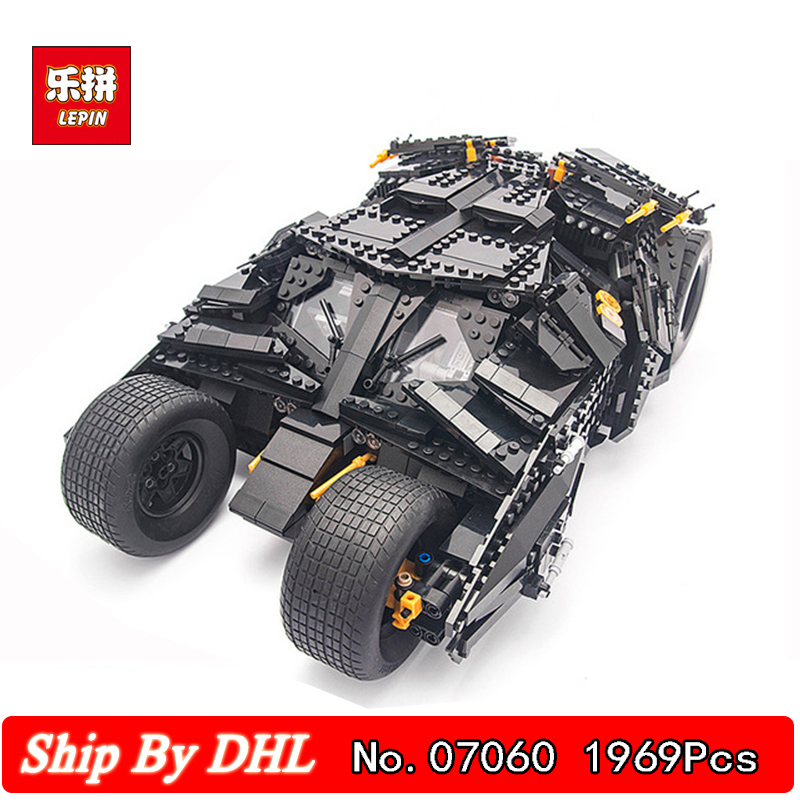 Lepin 07060 Classic Movie Series Chariot Large tank Chariot Building Blocks 1969Pcs Bricks Toys Gift Compatible 7111 DHL bevle store lepin 07045 501pcs with original box movie series robin chariot building blocks bricks for children toys 70905