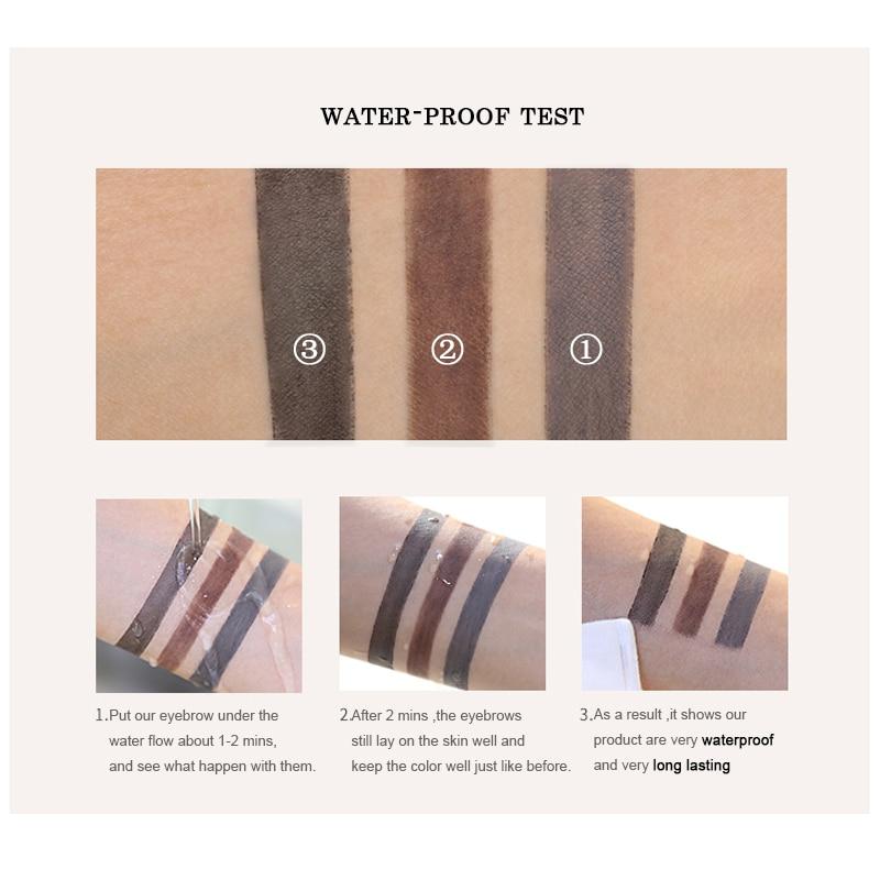 FOCALLURE Eyebrow Pencil 3 colores suave y liso automático - Maquillaje - foto 3