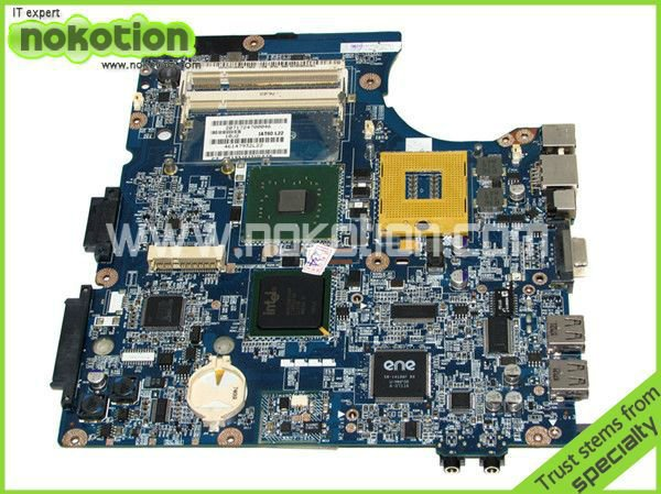 NOKOTION LAPTOP MOTHERBOARD for HP 530 448434-001 LA-3491P INTEL I945GM GMA 950 DDR2 Mainboard free shipping nokotion 636373 001 da0r13mb6e0 mainboard for hp pavilion g4 g6 g7 laptop motherboard hm65 intel hd gma ddr3 works