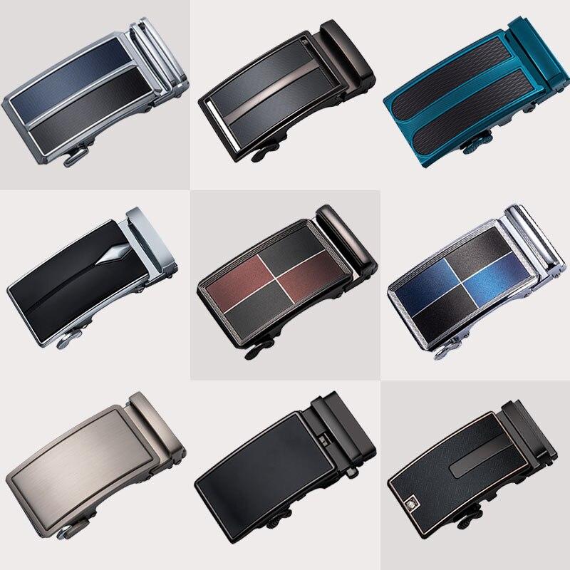 2019 New Designer Belt Buckles For Men Blue Red Fashion Automatic Metal Buckles For Belt Strap Formal Buckle Without Belt