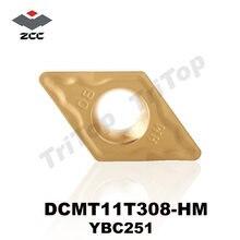 Zccct рекламный Тип dcmt 11t308 hm ybc251 (10 вставок/коробка)