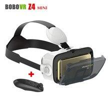 Руководитель Монтажа Cardborad BOBOVR Z4 Мини Мобильный 3D Видео Шлем Виртуальной Реальности Очки VR Гарнитура для 4.7-6 Смартфон + Контроллер