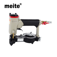 MEITE ZN 12 crown 8.5 10.5mm automatic feeding air deco pneumatic nailer gun for furniture wood tool July.23 Update tool