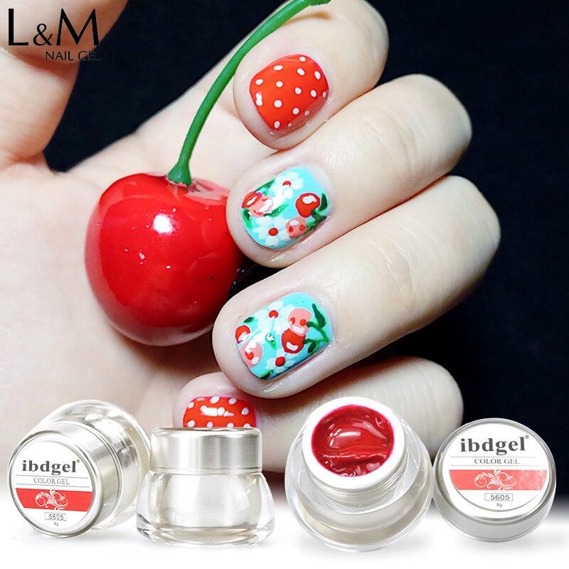 1 Jar Ibdgel Brand High Quality Painting Uv Led Nail Gel