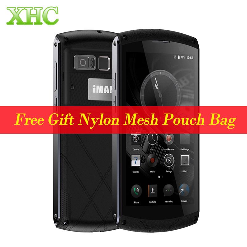 Iman victor 64 gb lte 4g smartphone teléfono huella digital 4800 mah vida a prue