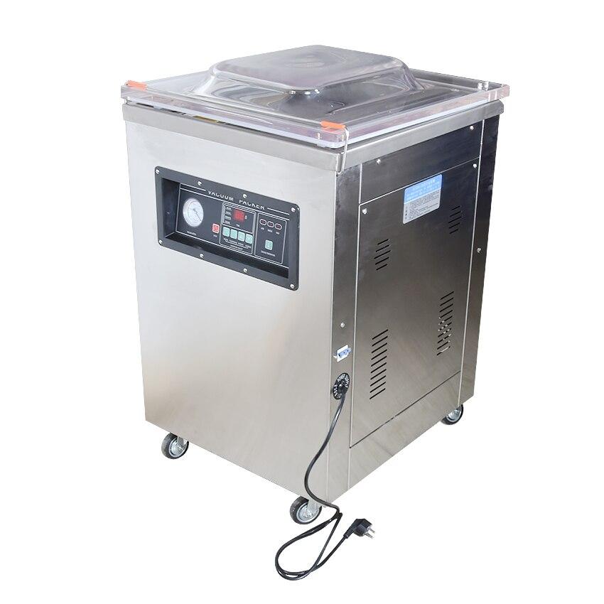 Scellant sous vide de nourriture de DZ-500-2D 220 V/900 W, chambre de vide d'emballage sous vide, machine de cachetage de vide de thé de riz de nourriture de sacs en aluminium