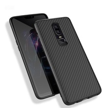 Luxury Carbon Fiber pattern Phone Case For OnePlus 6 1+6 Soft TPU Nylon Pattern Slim Protective Case Cover For Oneplus 5 5T 1+5T nylon 5t rear on road wheel set for 1 5 baja 5t ts h95167 wholesale and retail free shipping without inner foam
