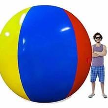 High Quality Giant 200cm Inflatable Beach Ball Sea Swimming Pool Water Toy Four-Color Beach Ball Beach Ball