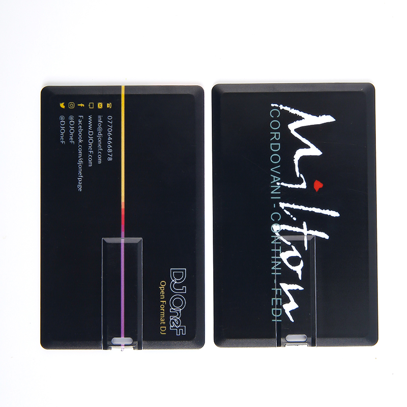 Cheap Bulk Plastic Wafer Business Credit Card Usb Flash Drive With Custom Logo Full Color Printing 2gb 4gb 8gb 16gb Usb Cards