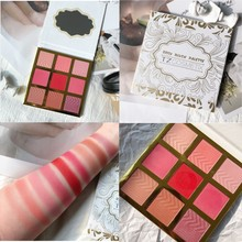 9 Colors 2IN1 Eyeshadow&Blush Palette Shimmer Matte Glitter EyeShadow Pallete Smoky Pigment Makeup Cosmetic
