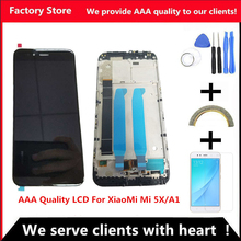 AAA Quality LCD With Frame For XiaoMi Mi A1 LCD Display Screen Replacement For XiaoMi 5X/A1 LCD Digiziter Assembly