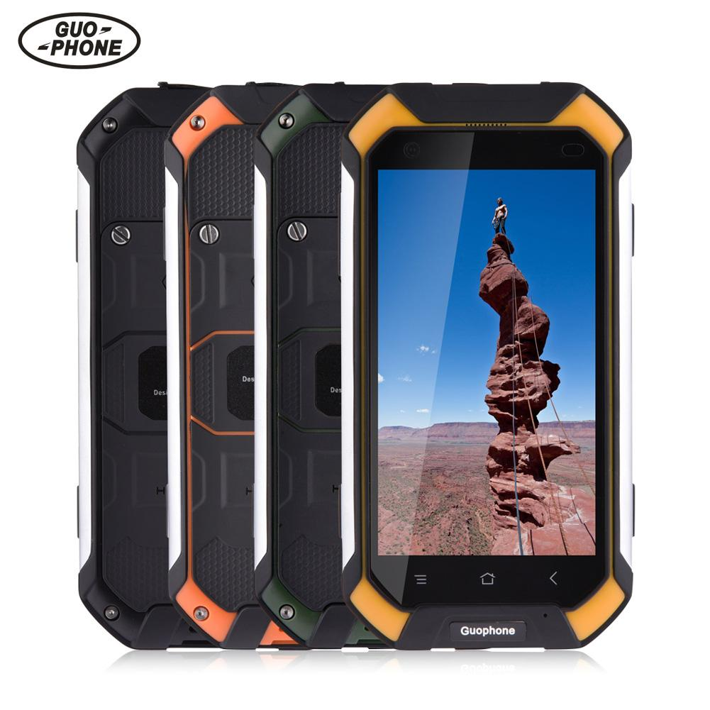 Guophone V19 impermeable Smartphone 2 GB + 16 GB IP68 a prueba de golpes a prueba de teléfono GPS 3G Android Teléfono Inteligente teléfono móvil teléfono 4500 Mah