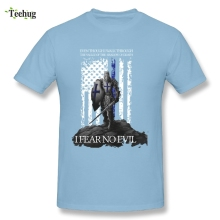 Retro Men Knights Templar T Shirts Quality Cotton Mans Tees Shirt