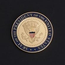 Высокое качество памятная монета США 45-й президент Дональд Трамп художественные подарки для коллекции сувенирная MAY-24A