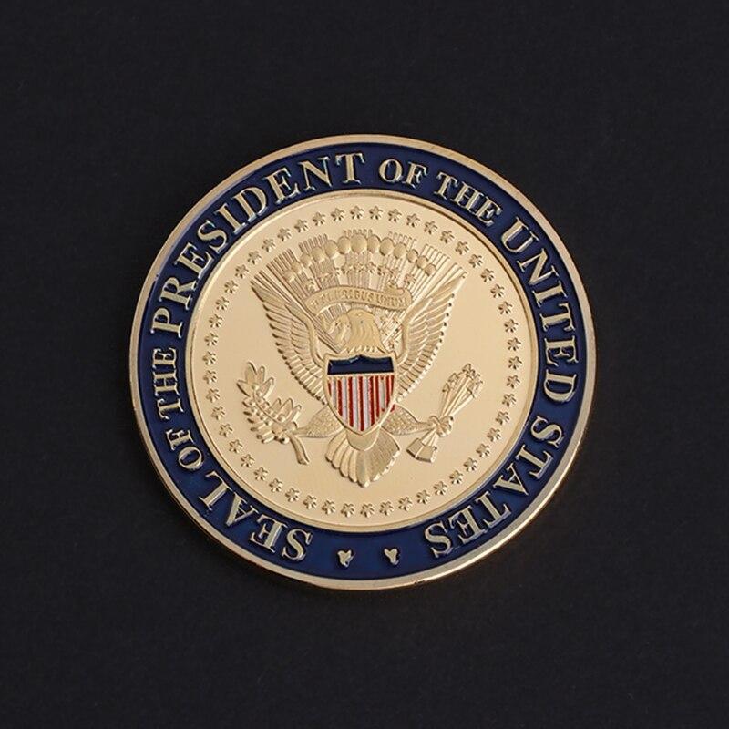 Hohe Qualität Gedenkmünze UNS 45th Präsident DOnald Trump Sammlung Kunst Geschenke Souvenir MAY-24A