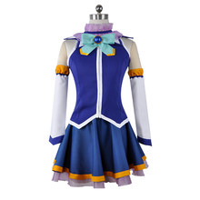 New Anime Kono Subarashii Sekai ni Shukufuku wo! Cosplay Costumes Aqua Cosplay Dress Kazuma Satou Megumin Uniform(China)