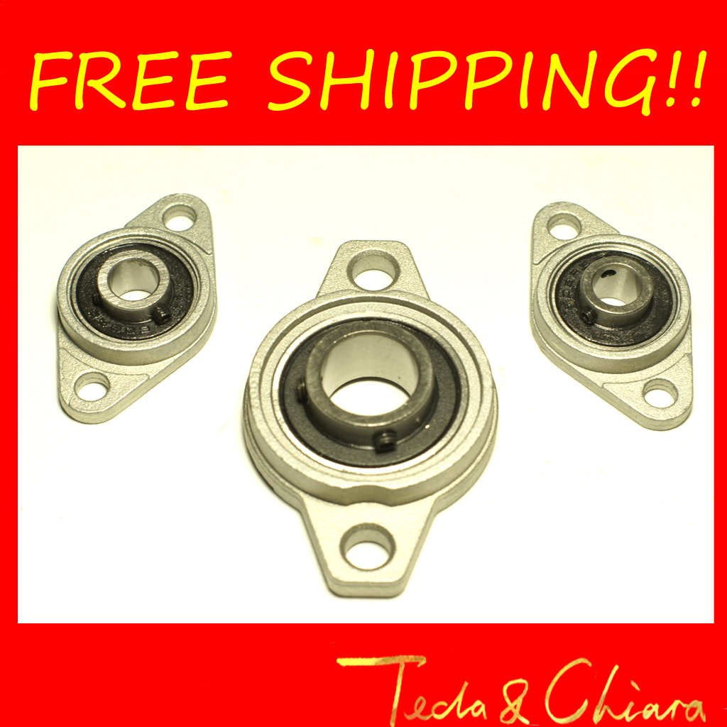 1Pc 30mm KFL006 FL006 UCFL006 Pillow Block Bearing Flange Block Bearing Free shipping High Quality provide high quality model car bearing sets bearing kit bolink eliminator 12 free shipping