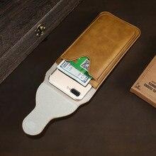 Kisscase кожаная поясная сумка двойной Слои металлический зажим для ремня чехол для телефона iPhone 7 7 Plus 6 6 S плюс 5S SE 4S держателя карты Чехол