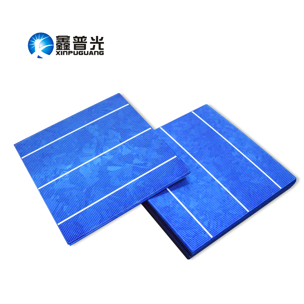 XINPUGUANG 60pcs 156*150MM 4.2W 0.5v solar cell PV module Polysilicon silicon DIY solar panel 250W Photovoltaic 18% efficiency