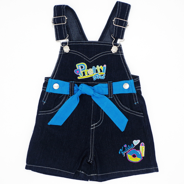 2017 New Fashion Baby Boys Girls Bib Pant Children Denim Overall Trousers Brand Kids Clothes Infant Jeans Jumpsuits Sling Pants
